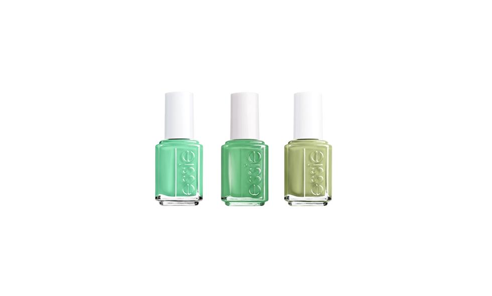 Essie nagellack grönt