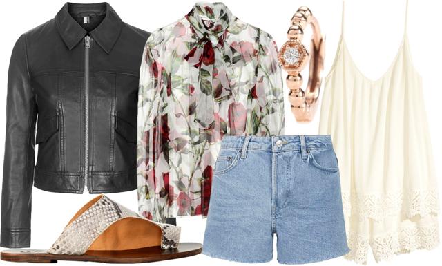 I butik: Blommönstrade plagg och ljus denim