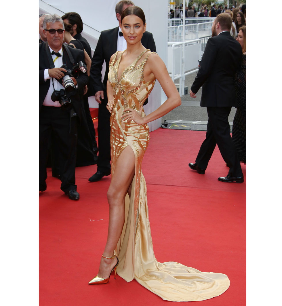 Irina Shayk  under Cannes filmfestival 2015