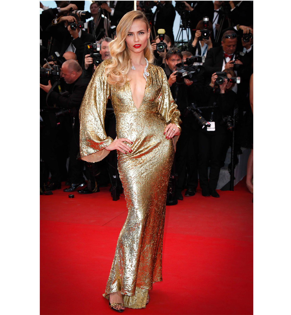 Natasha Poly under Cannes filmfestival 2015