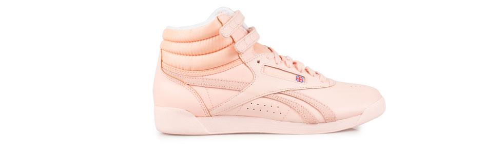 Puderrosa reebok sneakers