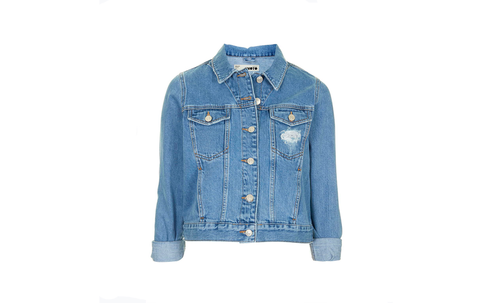 <strong>Jeansjacka</strong>, Topshop
