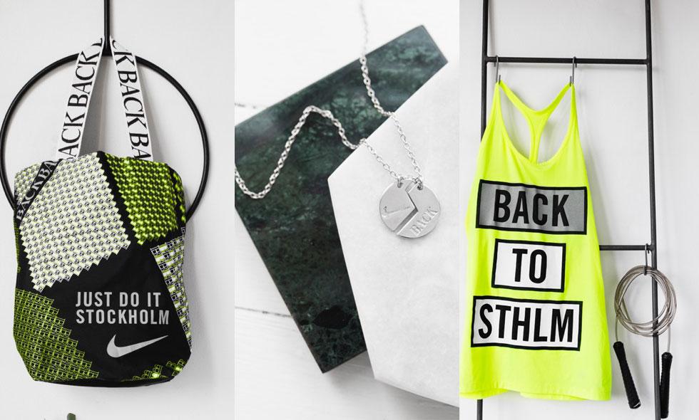 Ann-Sofie Back och Nike i stort samarbete