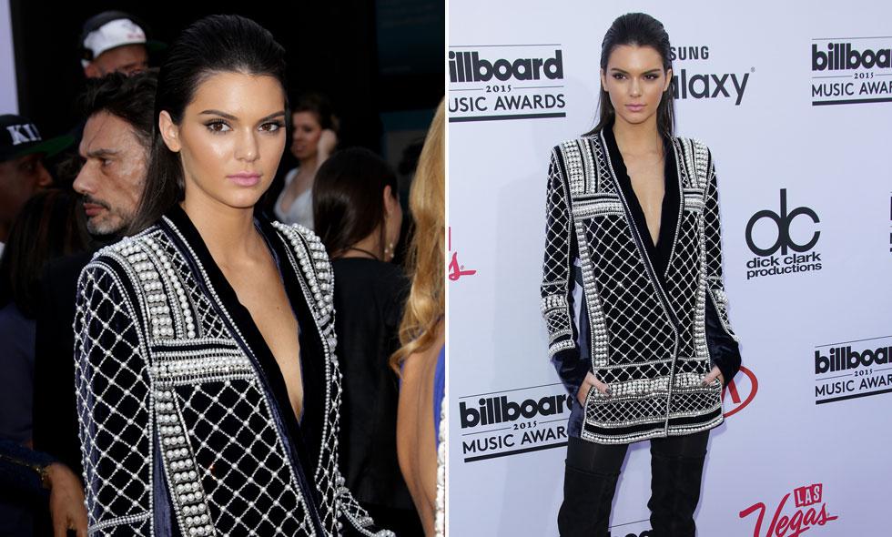 balmain i samarbete med HM. Kendall Jenner