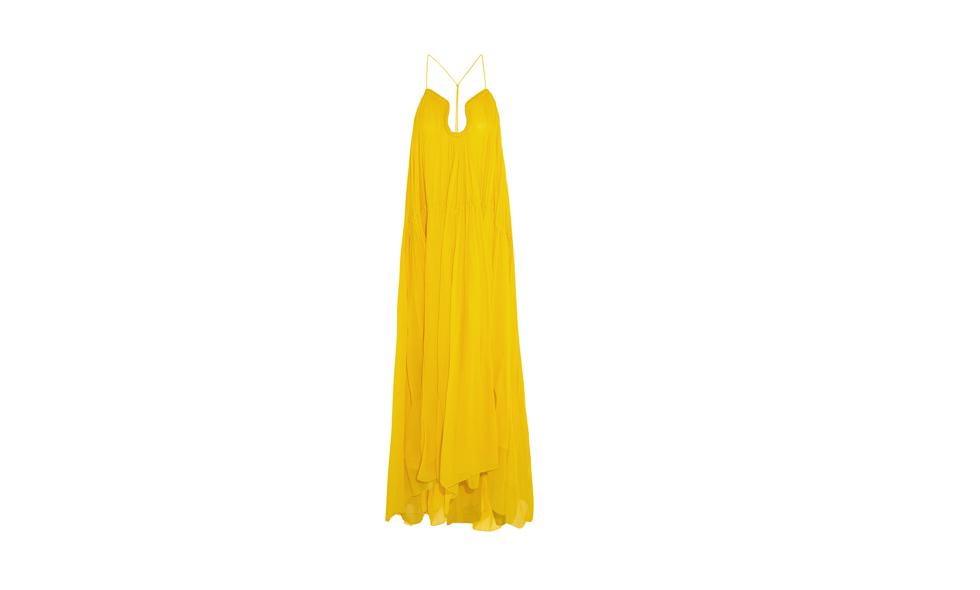 Chloè, gul klänning
