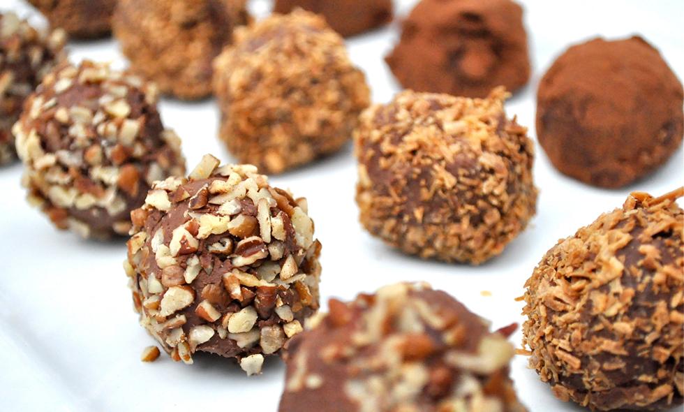 Chokladprovning som present