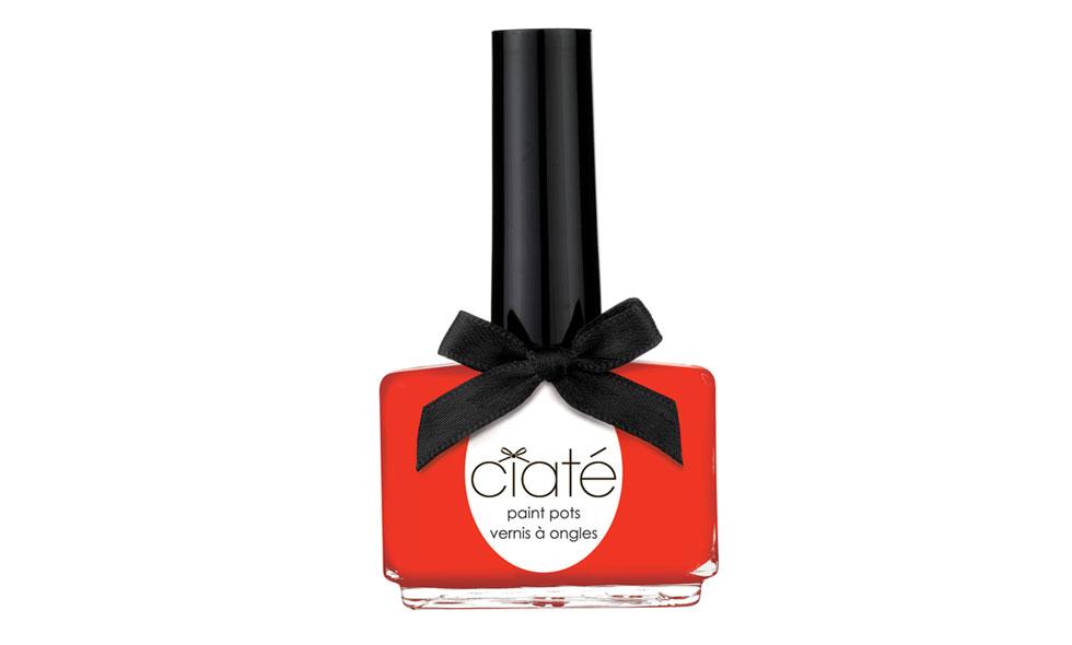 Rött nagellack från Ciaté