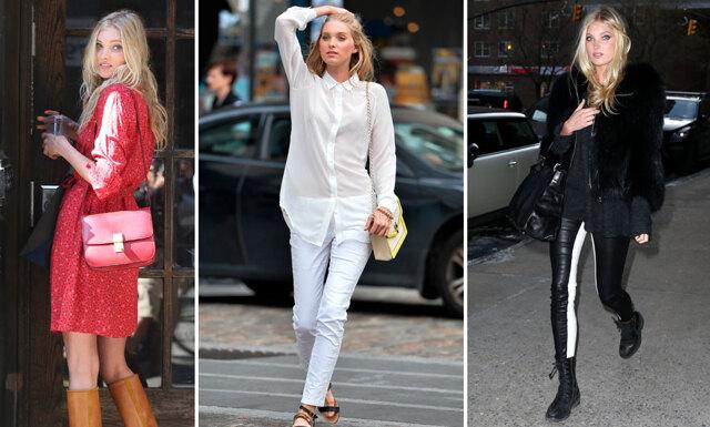 7 snygga outfits med supermodellen Elsa Hosk
