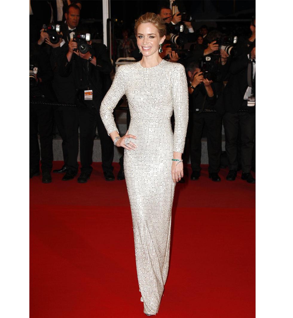 Emily Blunt under Cannes filmfestival 2015
