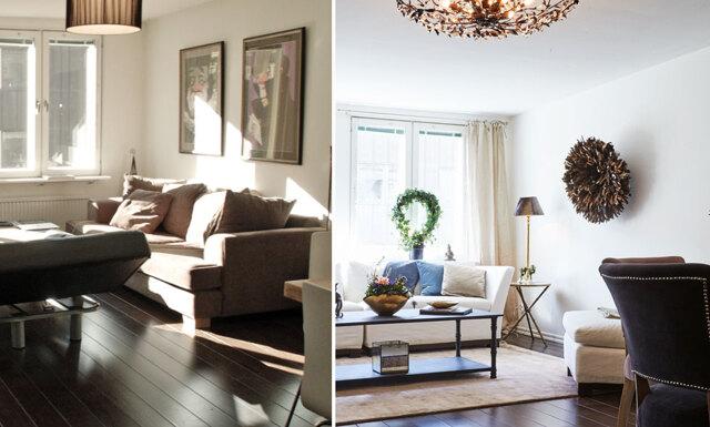 Homestyla lägenheten och öka försäljningspriset