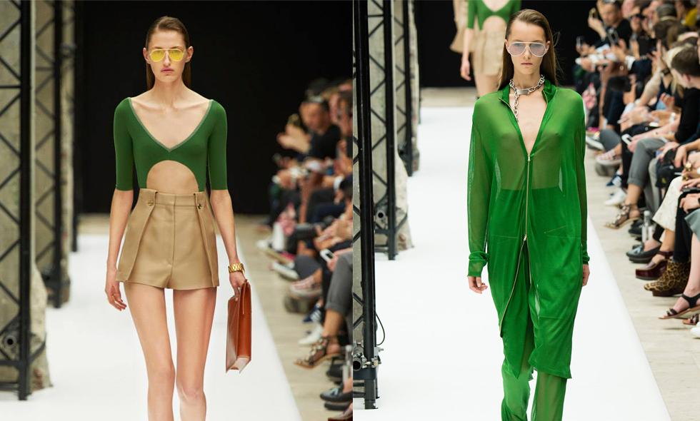 Gröna kläder