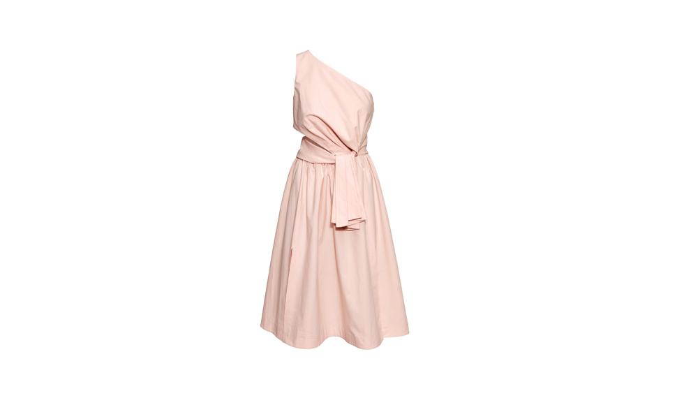 HM, ljusrosa klänning