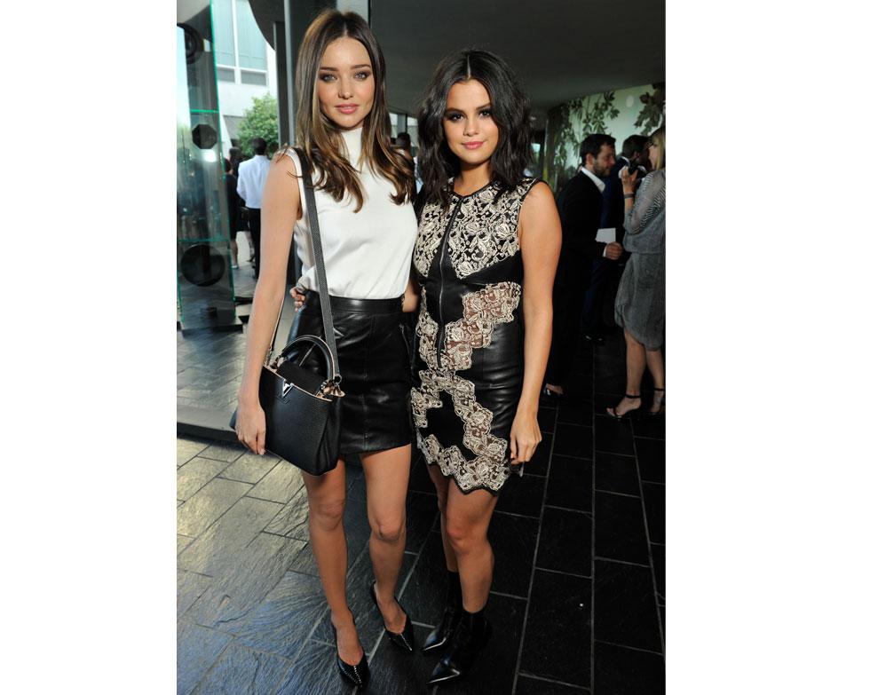 Miranda kerr och Selena Comez
