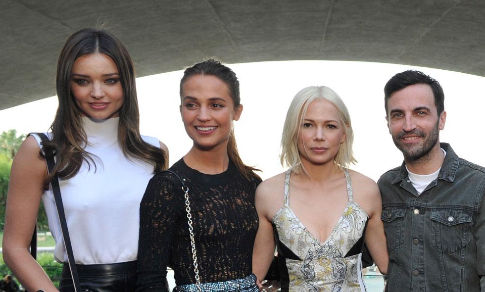 Miranda Kerr, Michelle Williams och Alicia Vikander