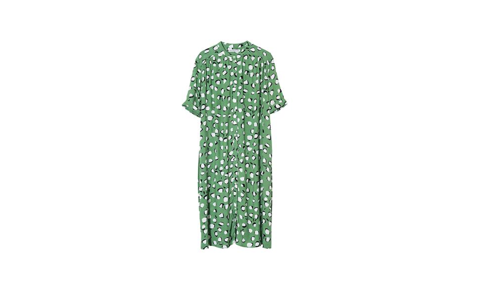 Rodebjer grön klänning