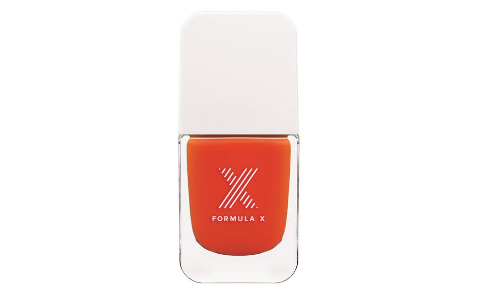 Rött nagellack från Formula X