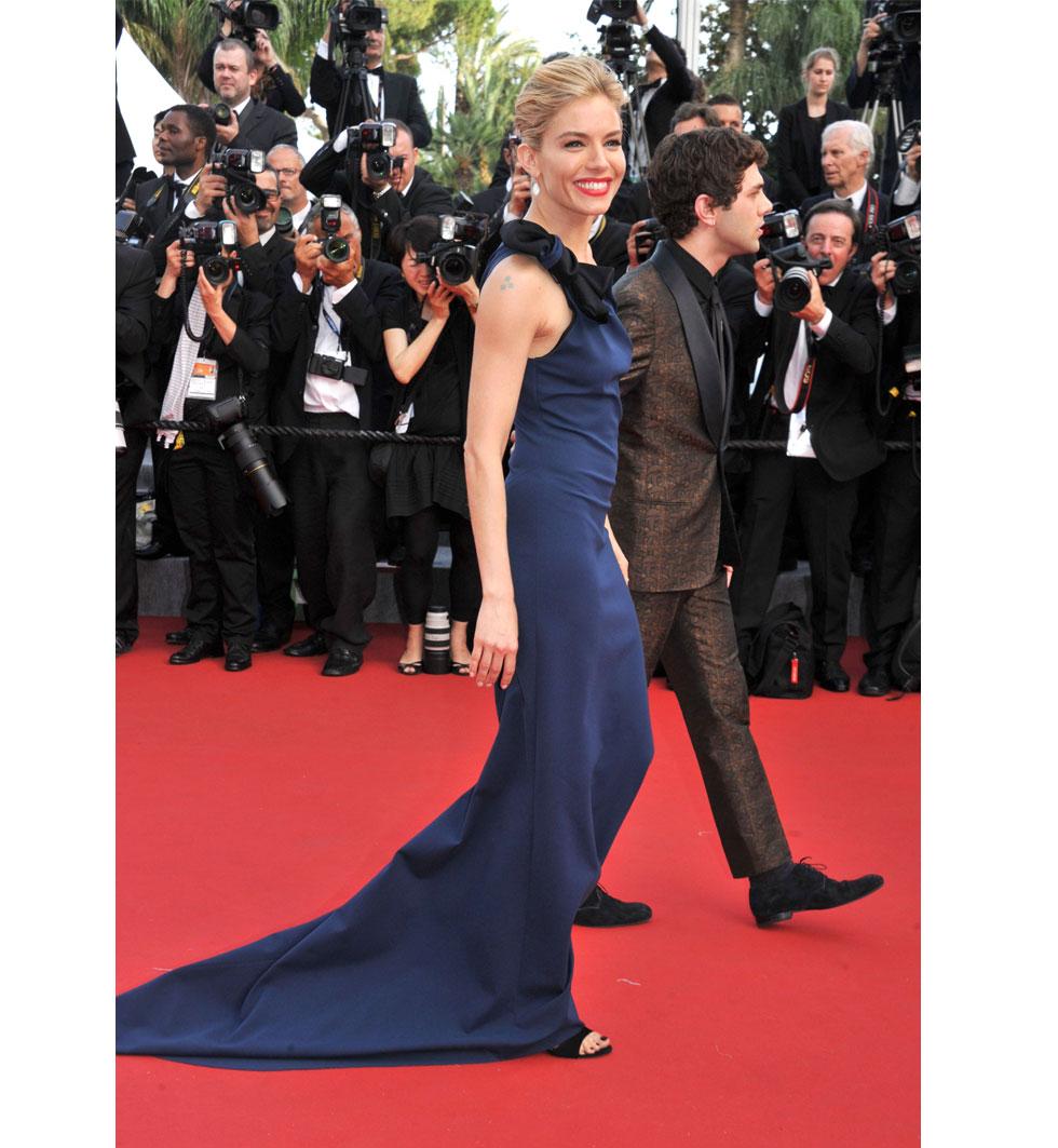 Sienna Miller under Cannes filmfestival 2015