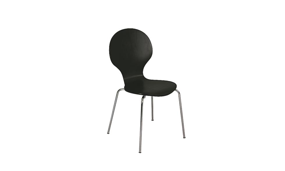Svart stol, Ellos, 1299kr