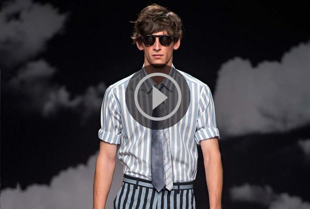 Se Tigers mäktiga visning på modeveckan i London