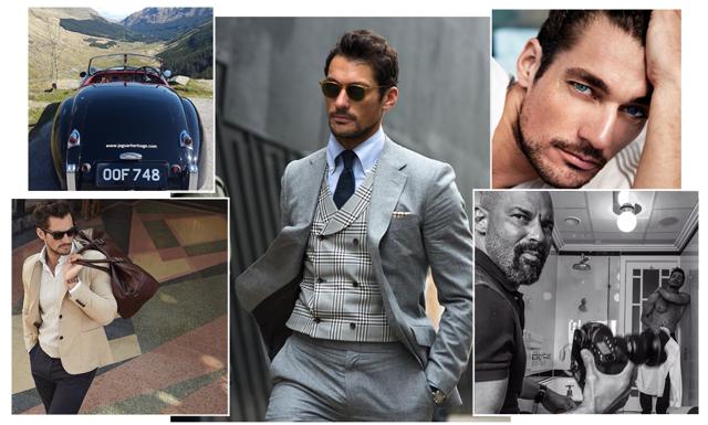 Bäst klädd på Instagram: David Gandy