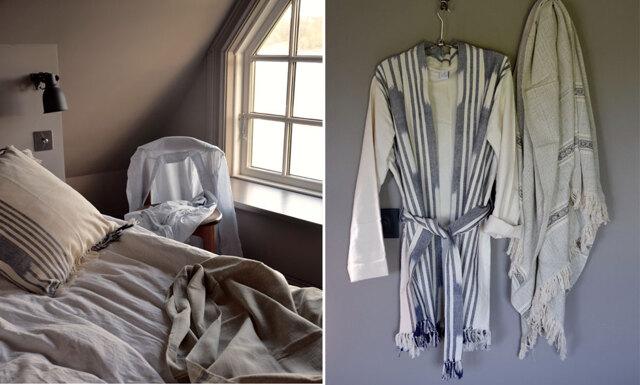 Malaika Cotton gör inredningsdetaljer i afrikansk-skandinavisk anda