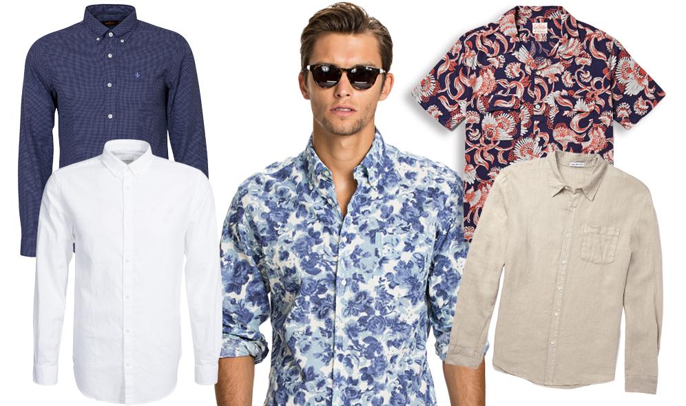 8 snygga sommarskjortor for män