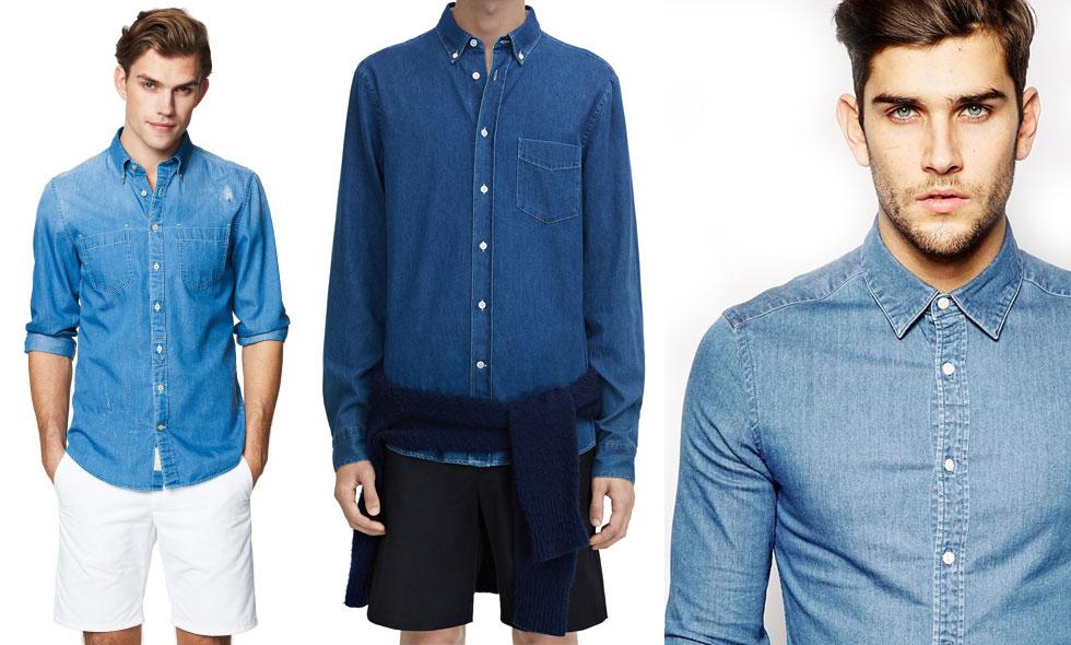 4 lediga jeansskjortor som är helt rätt just nu