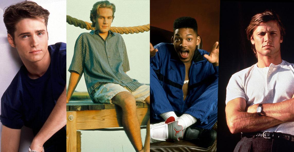 10 heta tv-hunkar vi var kära i på 90-talet