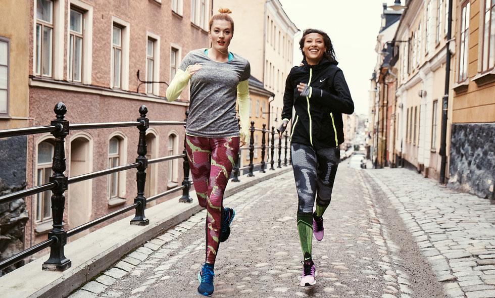 Nike intar Stockholm för en träningsweekend utöver det vanliga