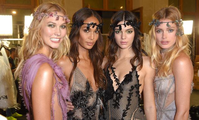 Magi på Atelier Versace Couture show i Paris