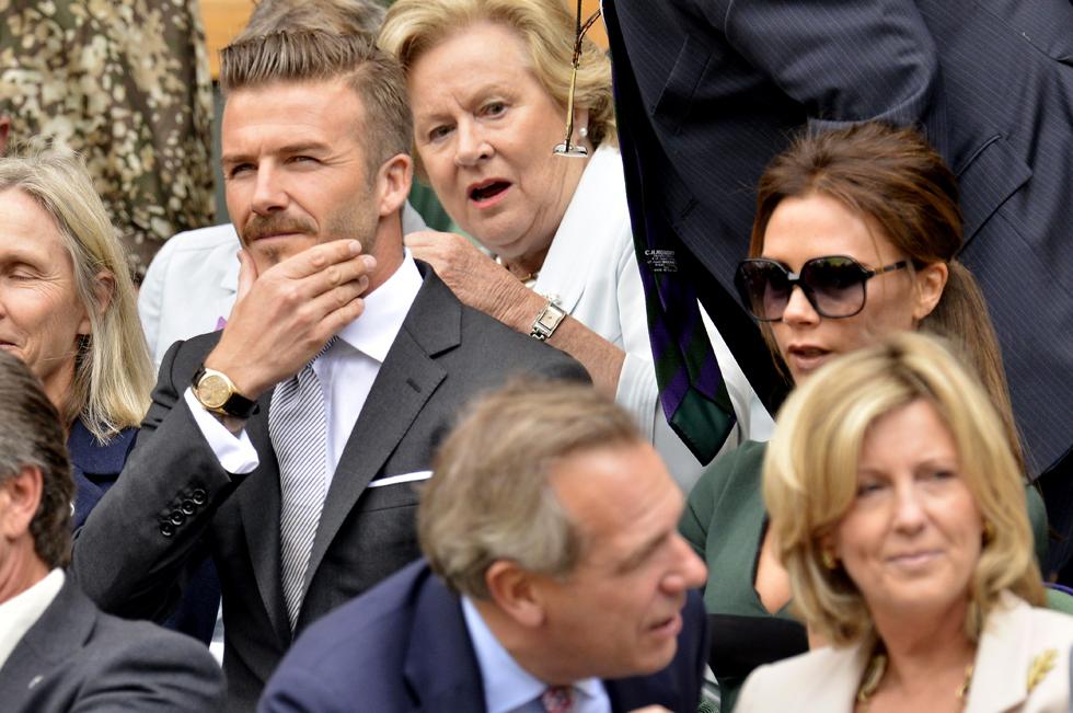 Kolla in David Beckhams nya tatuering