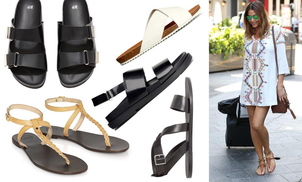 15 snygga sandaler att fynda på sommarrean