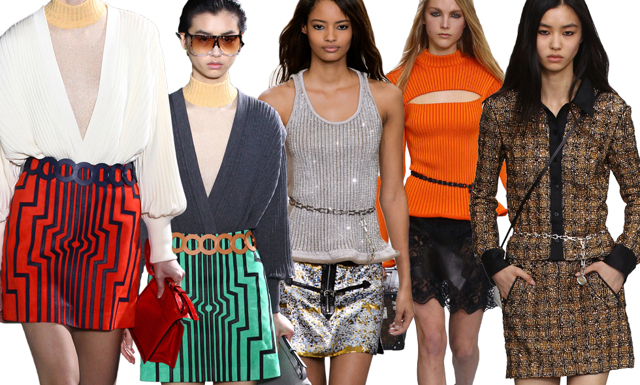 Trend: den a-linjeformade kjolen