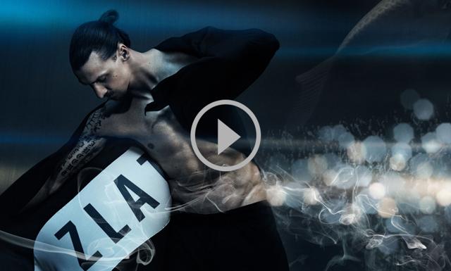 Wow! Kolla in Zlatans mäktiga reklamfilm