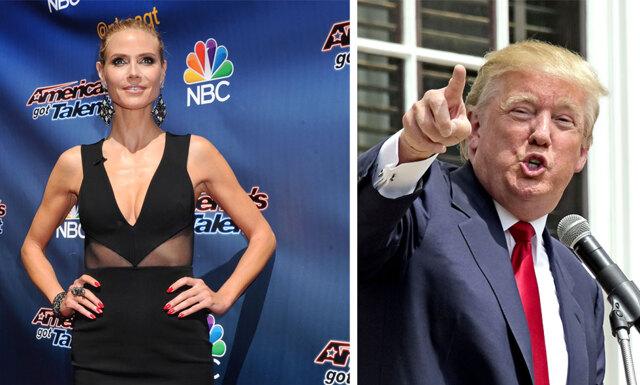 Heidi Klums kaxiga svar till Donald Trump
