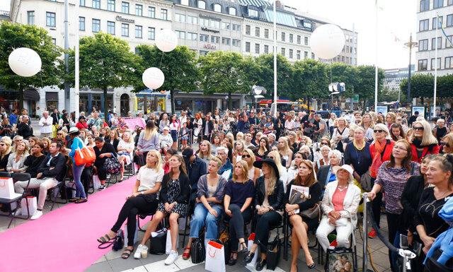 Folktätt när Metro Mode bjöd in till modevisning under Fashion Night