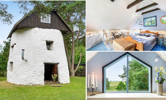 Den gotländska kvarnen kan bli ditt nya sommarhus
