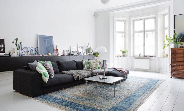 En ljus dröm med coola detaljer på Kungsholmen