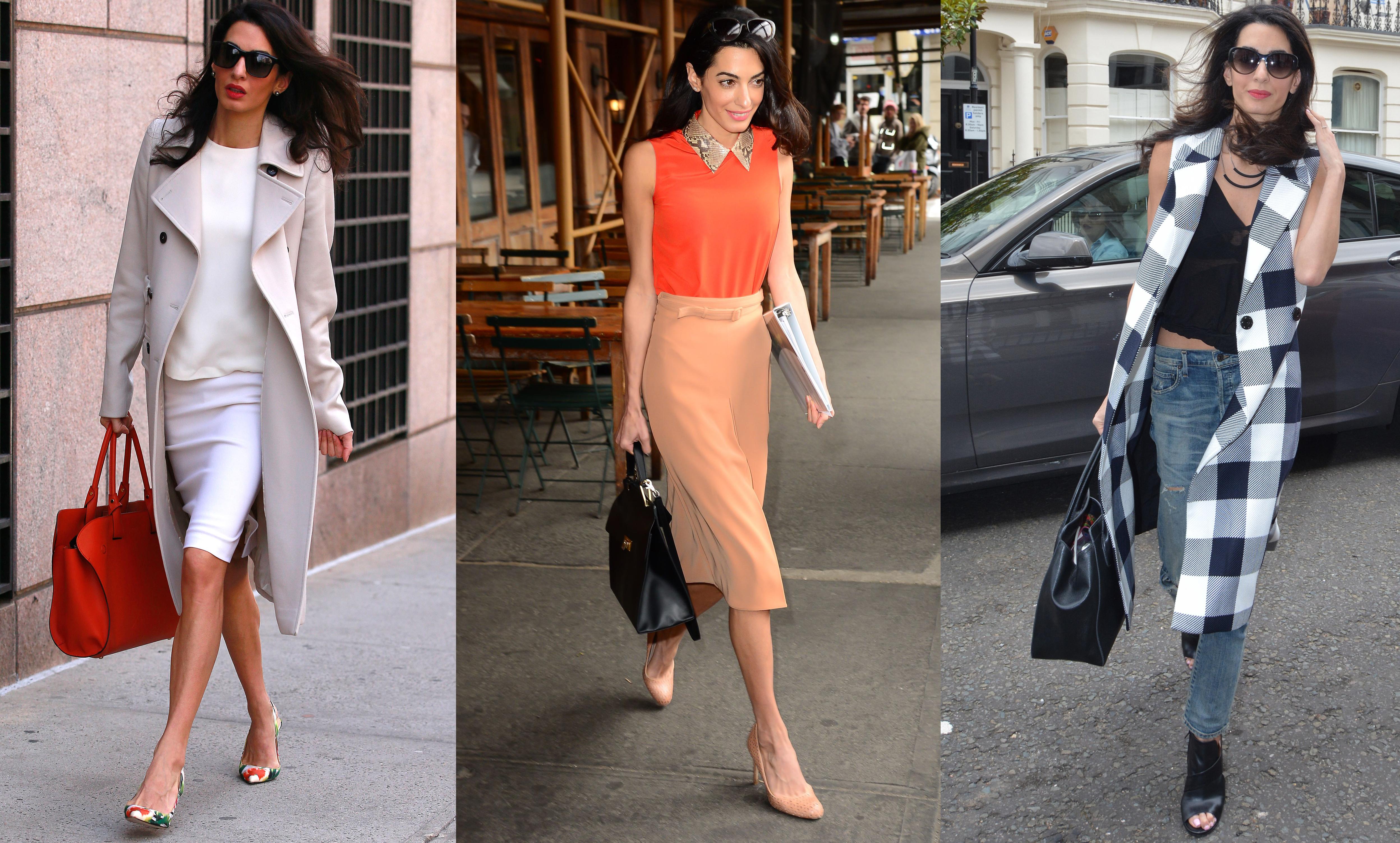 Låt dig inspireras av Amal Clooneys 11 snyggaste outfits