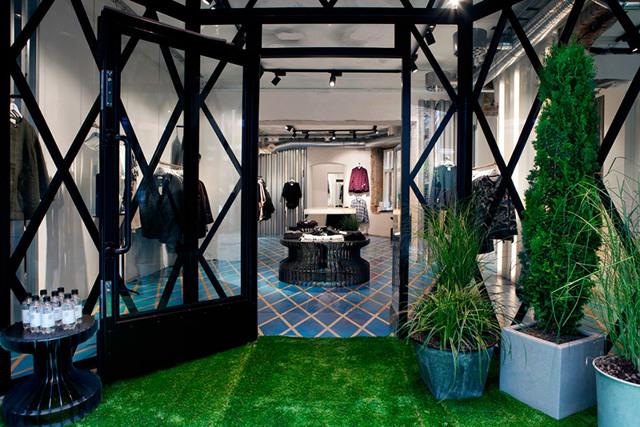 Här öppnar nya herrmodebutiken i Stockholm