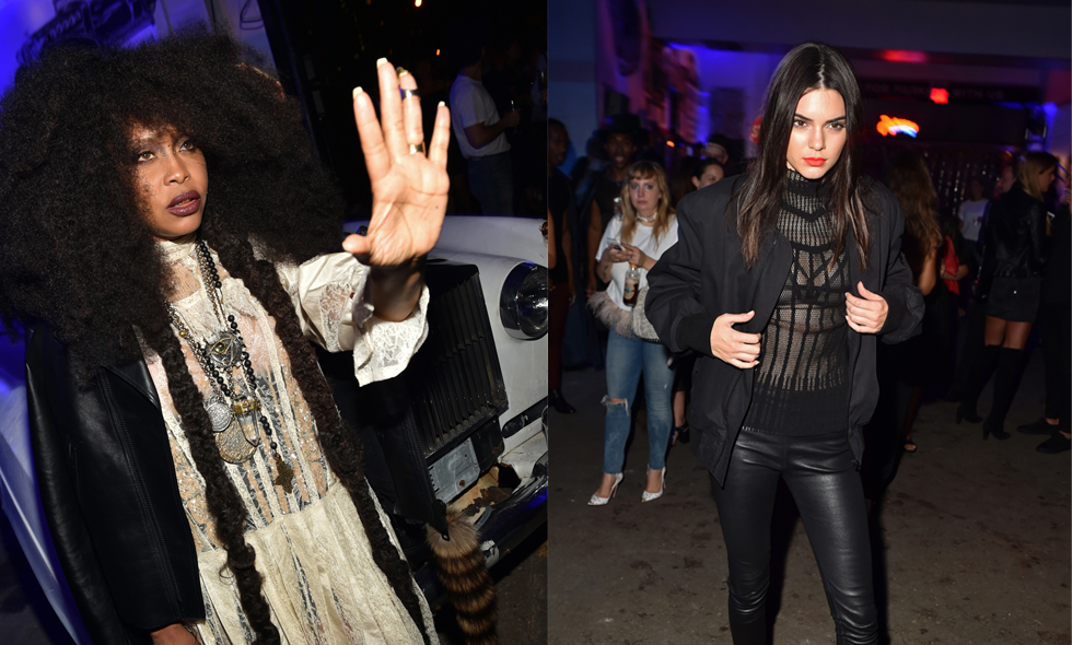 Givenchys kändistäta efterfest på New York Fashion Week