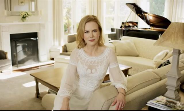 Få en personlig rundtur i Nicole Kidmans hem