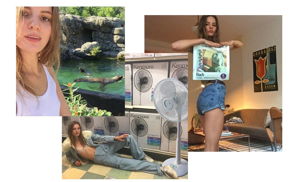 Tilda-lindstam-@tildalindstam-instagram-modell-model-backstage-funny-rolig-humor-zoolando-runway-photoshoot