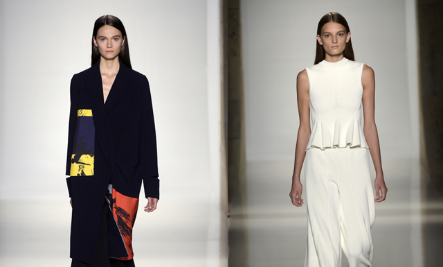 Victoria Beckham SS16 på New York Fashion Week
