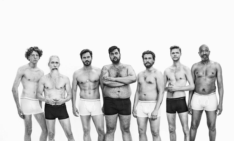 Dressmanns nya kampanj – alla män är perfekta