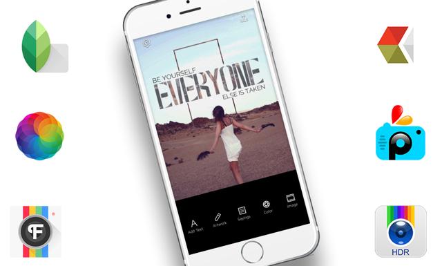 Här är de bästa foto-apparna för din mobil