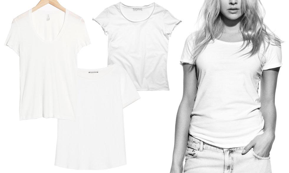 Här är de 4 bästa och snyggaste vita t-shirtarna på nätet