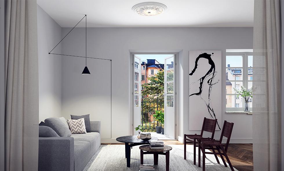 Lyxiga boutiquelägenheter med hotellkänsla lanseras i Stockholm