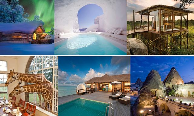 13 hotell du drömmer att checka in på