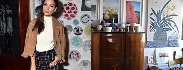 Se Emily Ratajkowskis coola studiolägenhet i LA